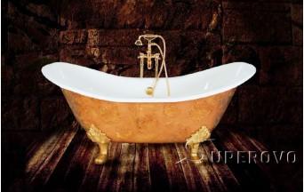 Ремонт и реставрация чугунной ванны 1,5м  в Барановичах