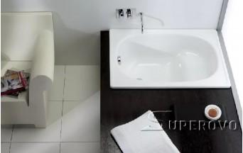Ремонт и реставрация  металлической сидячей ванны 1,2м  в Барановичах